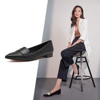 Clarks 其乐 其乐女鞋新款Laina15 Loafer低跟尖头乐福鞋一脚蹬单鞋