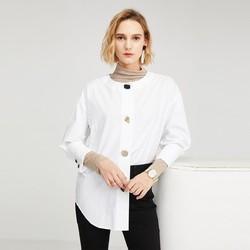 SELECTED 思莱德 420105515A06 女士圆领衬衫