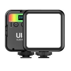 ulanzi VL49 RGB版 补光灯 黑色