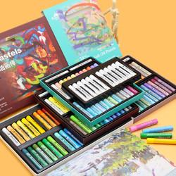 Kuelox 高尔乐 软性油画棒 24色 3盒装(艺术家+莫兰迪+马卡龙)