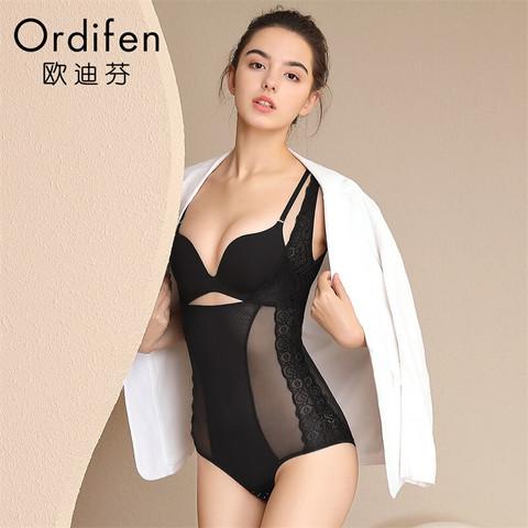 ordifen 欧迪芬 欧迪芬塑身衣连体内衣XE9301 黑色 2XL