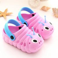 萌感熊 儿童拖鞋 粉红色22#