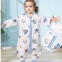 OUYUN 欧孕 婴儿分腿睡袋 前四后二背心款 70cmx33cm