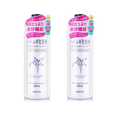 OPERA 娥佩兰  薏仁亮白保湿防晒化妆水 500毫升 2瓶装