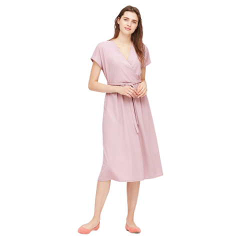 UNIQLO 优衣库 424195 女装花式针织连衣裙