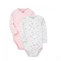 Carter's 孩特  婴儿长袖连体衣 2件套