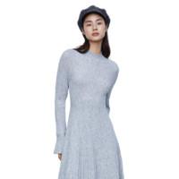 URBAN REVIVO WG43S9FN2000 女款针织连衣裙