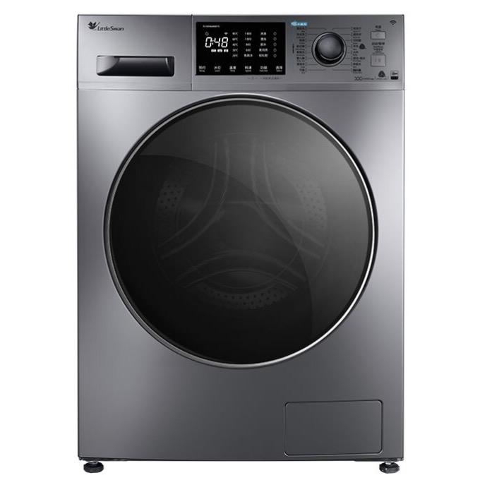 LittleSwan 小天鹅 水魔方系列 TG100V86WMDY5 滚筒洗衣机 10KG 银色