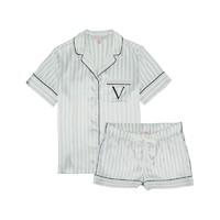 VICTORIA'S SECRET 维多利亚的秘密 11172758 女士丝滑缎面宽松家居服