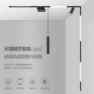 米家智能灯磁吸轨道灯无边框嵌入式客厅商业照明线条射灯无主灯 XR-MT510