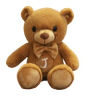 FUERBAO 福儿宝 泰迪熊毛绒玩具 60cm 彩袋包装