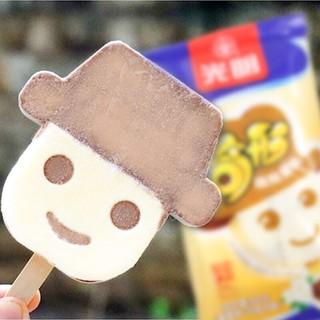 冰淇淋冷饮网红雪糕   白雪中砖*3+三色杯*3+奇形娃娃*4