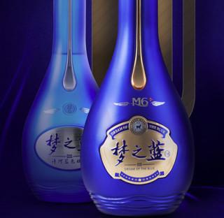YANGHE 洋河 梦之蓝 蓝色经典 M6 52%vol 浓香型白酒