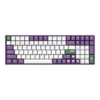 IQUNIX F96 100键 有线机械键盘 Joker Cherry茶轴 无光