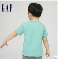 Gap 盖璞 男童纯棉短袖