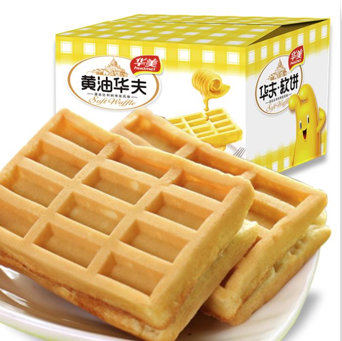 Huamei 华美 华夫饼干 500g