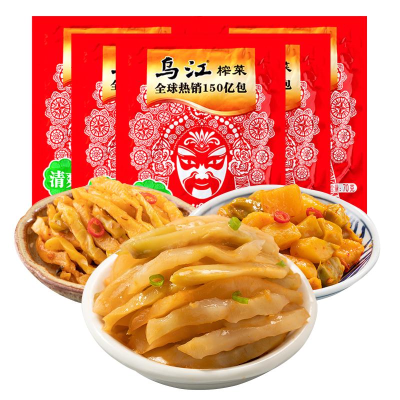 乌江 涪陵榨菜 990g