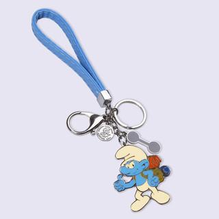 蓝精灵时尚卡通钥匙扣