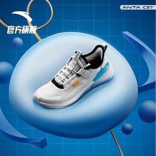 ANTA 安踏 安踏C37度软跑鞋2021新款夏季男鞋女鞋跑步鞋网面透气鞋子运动鞋