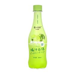 优之良饮  苏打气泡水 380ml*6瓶(橘味)