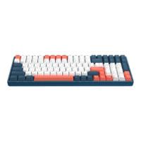 IQUNIX F96 100键 双模无线机械键盘 珊瑚海 Cherry茶轴 无光