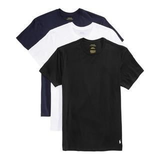 RALPH LAUREN 拉尔夫·劳伦 男士圆领短袖T恤 3件装