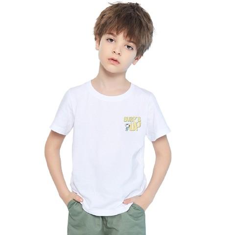 SNOOPY 史努比 儿童短袖t恤