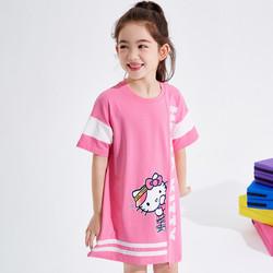 Hello Kitty 凯蒂猫 女童针织印花裙
