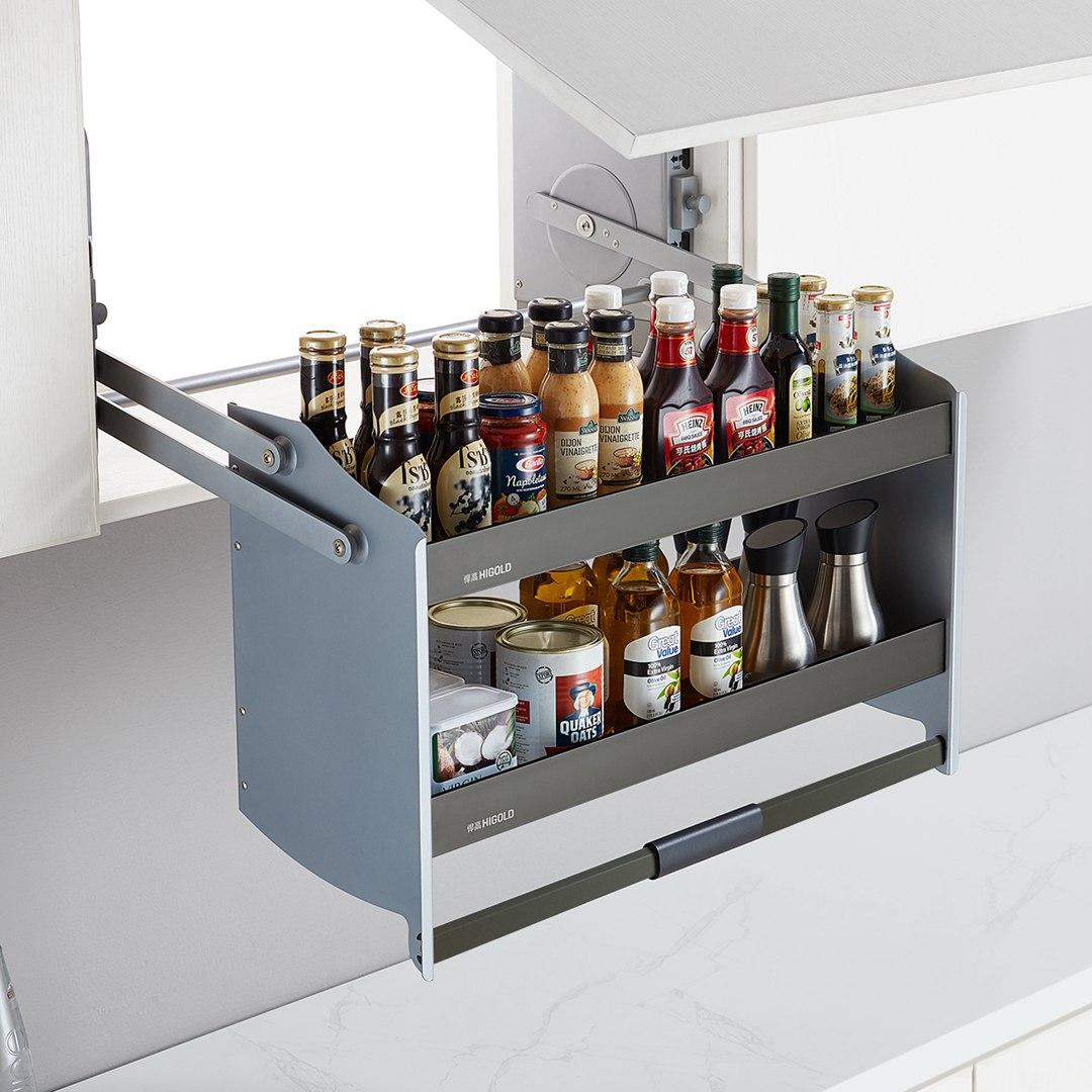 HIGOLD 悍高 厨房升降机吊柜拉篮 希勒升降机 600柜