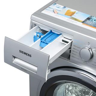 SIEMENS 西门子 速净系列 WD12G4681W 洗烘一体机 8kg 银色