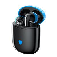 SoundPEATS 泥炭 TrueAir 游戏版 半入耳式真无线动圈降噪蓝牙耳机 蓝黑色