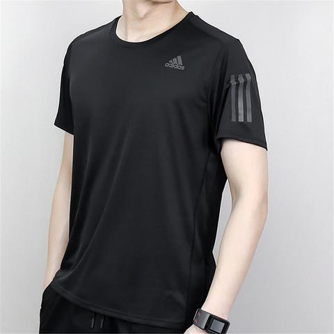 adidas 阿迪达斯 男款时尚潮流舒适休闲透气圆领薄款运动短袖T恤