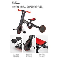 Hape 德国hape 平衡车 儿童玩具三合一可折叠滑步自行脚踏三轮车2-6岁男女小孩礼物 E8467多功能平衡车(黄黑)