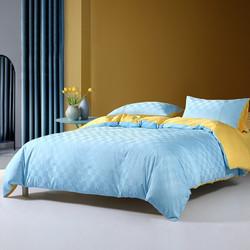MERCURY 水星家纺 罗米斯 40支长绒棉四件套 1.8m床