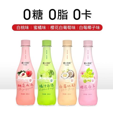 苏打气泡水 桃之夭夭 6瓶装