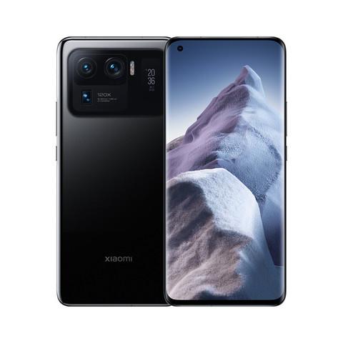 MI 小米 小米11 Ultra 至尊 5G 骁龙888 2K AMOLED四曲面柔性屏 陶瓷工艺 12GB+256GB 黑色 游戏手机