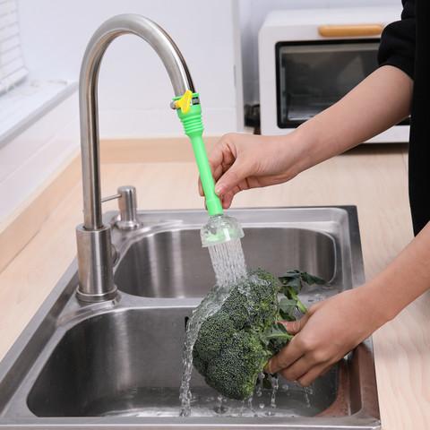 万能接口水龙头防溅头家用厨房卫生间水龙头过滤防溅头加长延伸器