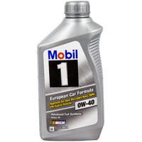 Mobil 美孚 1号 0W-40 SN 全合成机油 1QT