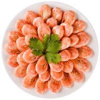 限地区 : 佳沃鲜生 加拿大 北极甜虾(MSC认证)熟冻甜虾400g/袋50-60只 已核酸检测 海鲜水产