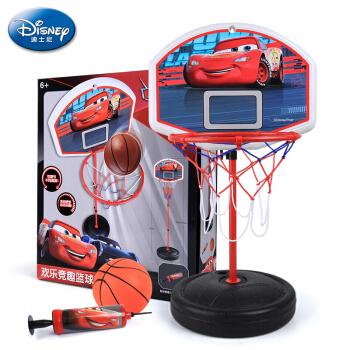 PLUS会员 : Disney 迪士尼 儿童可升降篮球架  小号