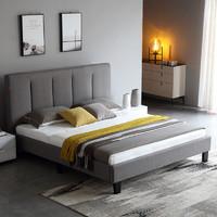 AHOME A家家具  DA0173 北欧卧室家具实木床 1.5m(单床)
