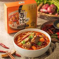PLUS会员:康师傅 速达煮面私房牛肉面 单盒装