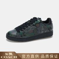 COACH 蔻驰  男士经典logo系带休闲鞋