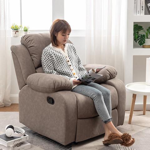 安法拉 单人电动按摩沙发 手动可躺+逍遥+可旋转