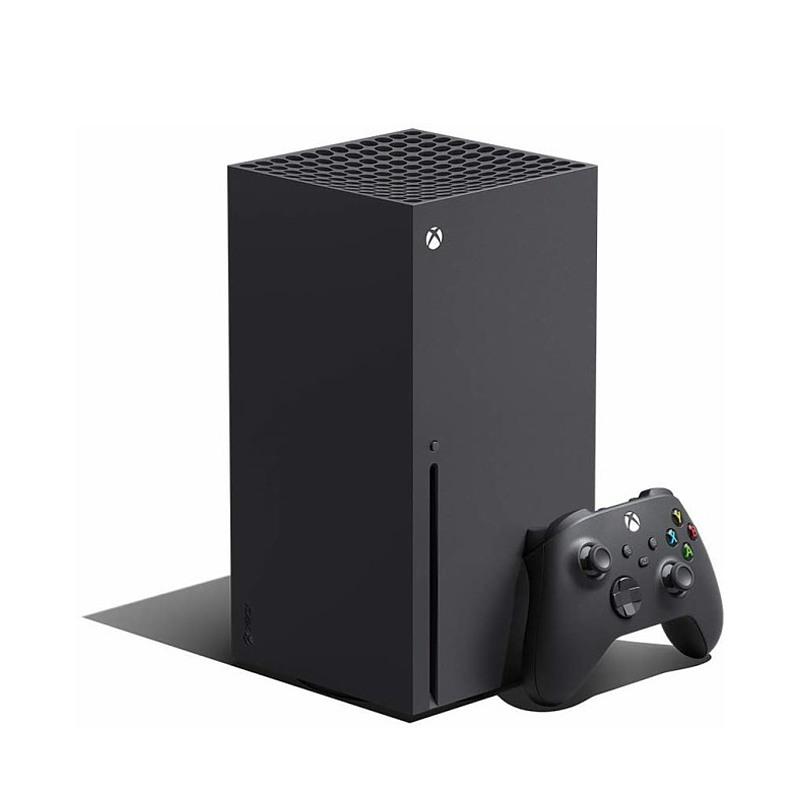 Microsoft 微软 Xbox Series X 家用游戏主机 1TB 黑色