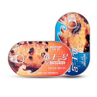 人高一等 豆豉鱼罐头165g*海鲜罐头