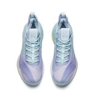 ANTA 安踏 KT6 男子篮球鞋 112121102-1 冰川蓝 44