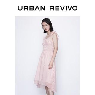 URBAN REVIVO YU20S7AN2005 女士无袖波点连衣裙
