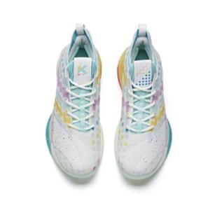 ANTA 安踏 KT6 男子篮球鞋 112121102-7 蓝/彩色 46