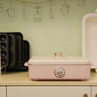 A4BOX 适盒 6109 电热烧烤炉 日落粉 4个盘